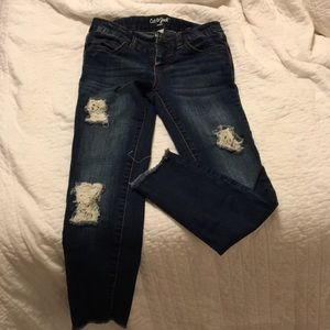 Cat & Jack Ripped Jeggings Sz 8